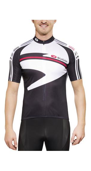 Sugoi Icon Koszulka kolarska biały/czarny